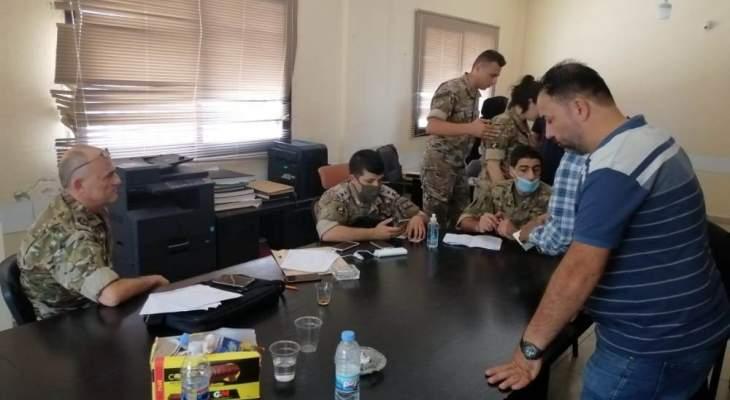 الجيش وزّع مساعدات مالية لذوي الاحتياجات الخاصة في ببنين العكارية