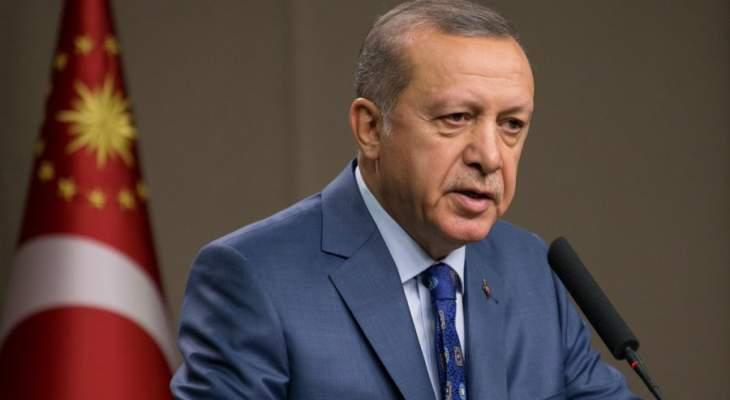 أردوغان: على مجلس الأمن ألا يقبل كل ما تتفوه به إسرائيل