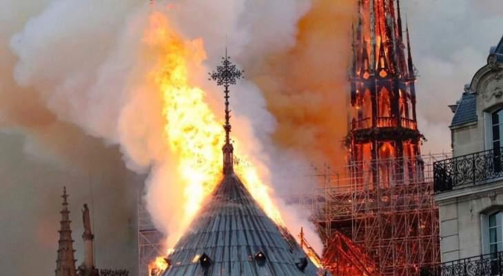 نيويورك تايمز: فرنسا تبكي كاتدرائية نوتردام رمز هوية باريس