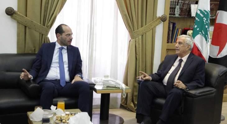 حسن مراد: الوحدة الوطنية عامل قوة اضافي للبنان