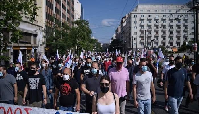 إضراب في اليونان احتجاجاً على تعديل قانوني يطيل ساعات العمل