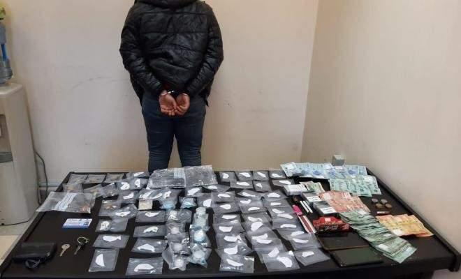 توقيف شخص يروج المخدرات في بيروت مستأجرا غرفة بفندق في الحمراء وضبط كمية منها