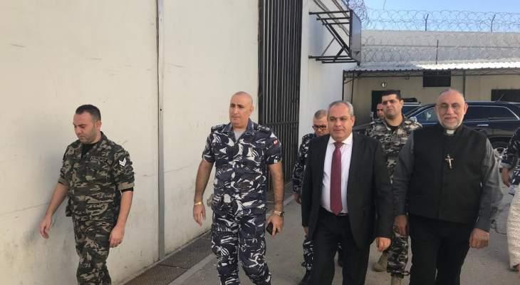 القاضي منيف بركات تفقد سجن زحلة للرجال: العمل جار على انجاز قانون العفو