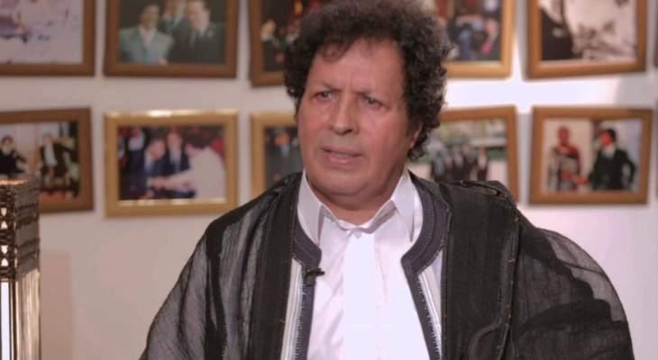 قذاف الدم: دعمنا ساركوزي لضمان بقائه حليفا استراتيجيا