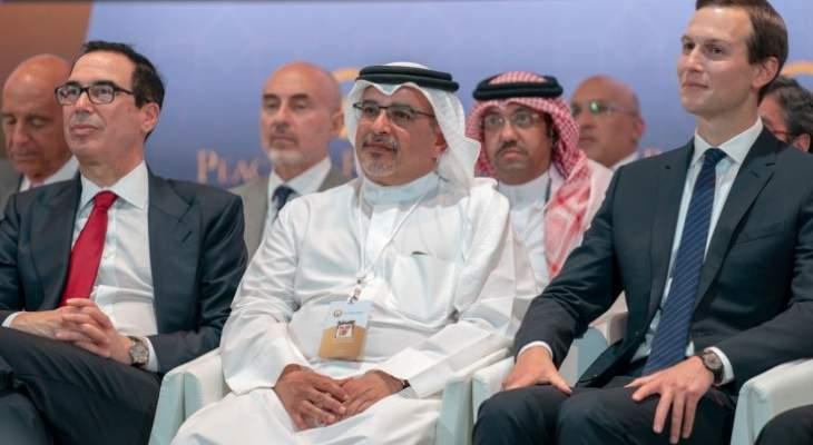 ولي عهد البحرين: ورشة السلام فرصة حيوية لتحفيز الاستثمارات الاقتصادية بالمنطقة