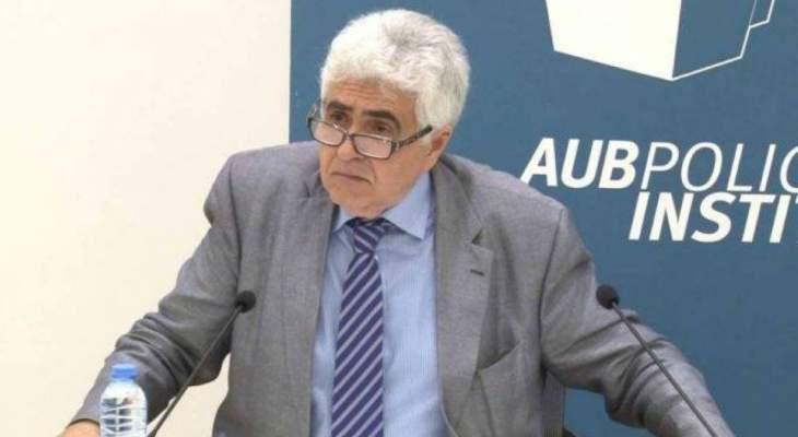 الصحافي الفرنسي مالبرونو يهنئ حتّي: دبلوماسي محنك وخبير بارع في الشرق الأوسط