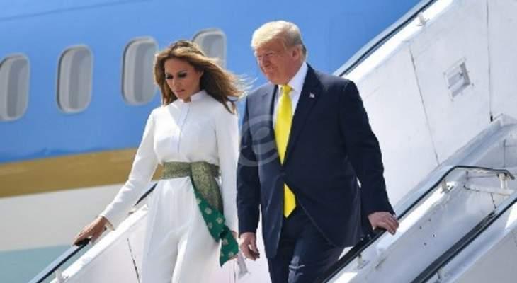 وصول ترامب إلى الهند في زيارة تستمر 3 أيام