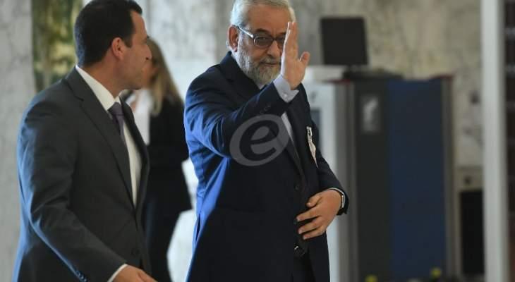 بقرادونيان: الرئيس عون أبلغني أننا قد نشهد ولادة الحكومة بين غدا وبعده