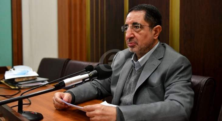 الحاج حسن: حرية الإعلام مصونة بالدستور وكلنا مسؤولون عن حفظ الأمن والاستقرار