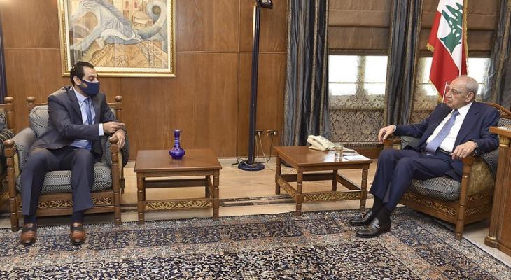 بري التقى أبو حيدر وعرض مع سفير النمسا الأوضاع العامة