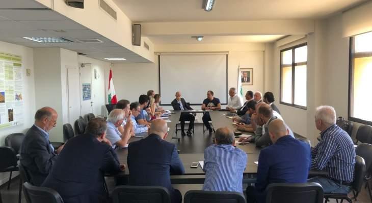 اجتماعان في وزارة البيئة حول ادارة النفايات واستخدام الوقود البديل