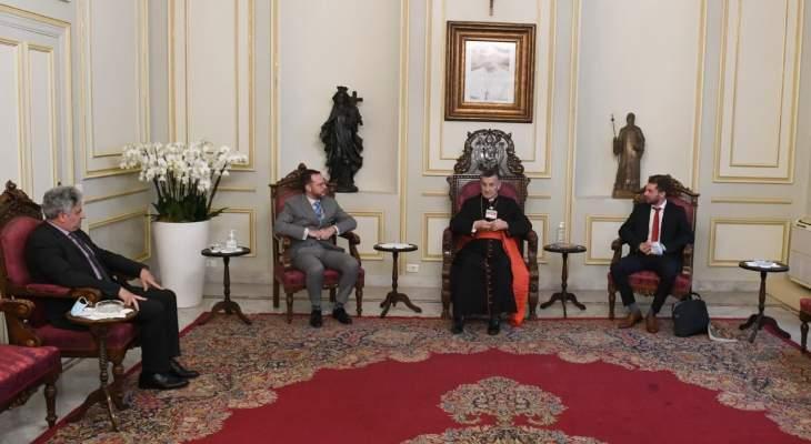 السفير التركي في لبنان بعد زيارته الراعي: مستعدون دائماً للتعاون ومساعدة لبنان وشعبه