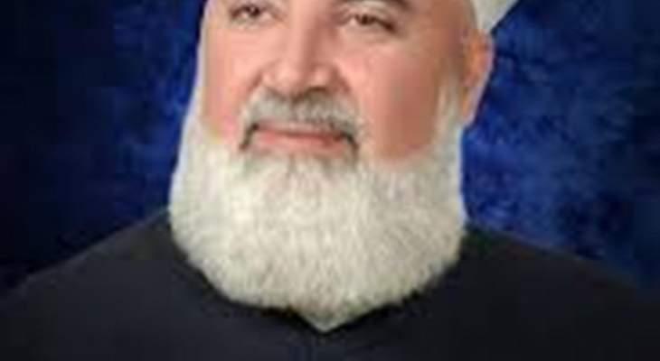 سانا:مقتل مفتي دمشق الشيخ محمد عدنان أفيوني بعد تعرض سيارته لعبوة ناسفة