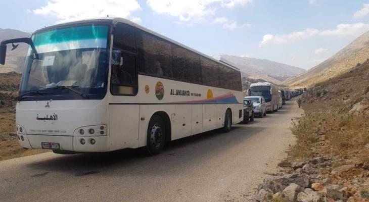 دفعة من النازحين في طرابلس غادرت الى سوريا تحت اشراف الامن العام