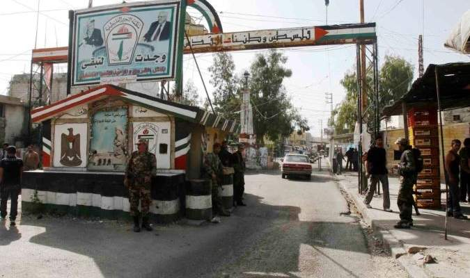 النشرة: مخيم عين الحلوة شهد استنفارا في منطقة الصفصاف