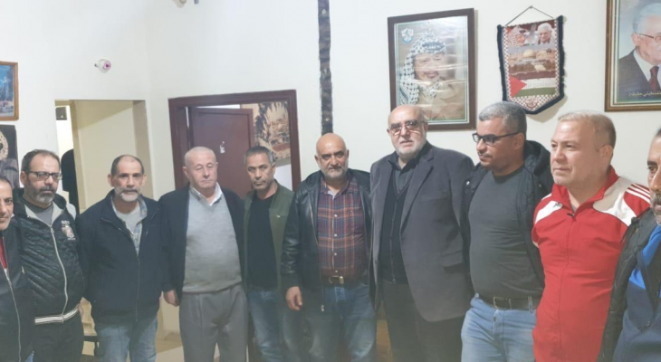 حمدان: عشقنا الى فلسطين يجعلنا أبداً نسعى ونناضل دائماً من اجل العودة اليها