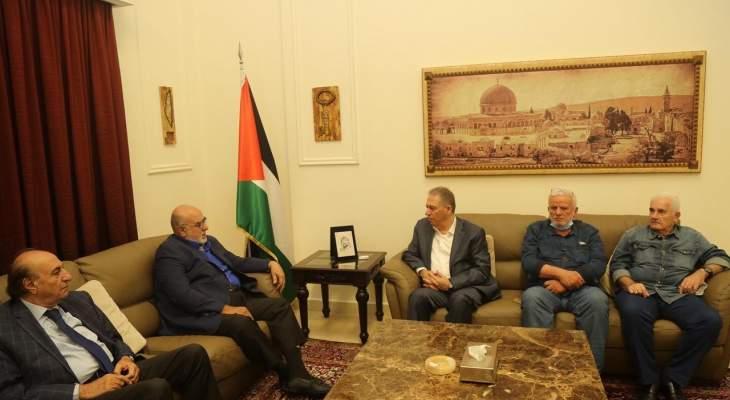"""وفد من """"المرابطون"""" زار دبور: ندعم نضال شعبنا الفلسطيني وحقوقه كاملة"""