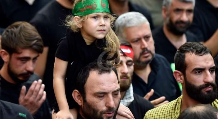 حزب الله  يواصل إحياء المجالس العاشورائية في مدن وقرى الجنوب
