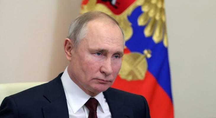 بوتين: حادث إطلاق النار في مدرسة في قازان كارثة مروعة وجريمة همجية
