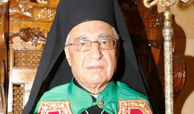 العبسي: المجلس الأعلى للطائفة ضرورة وطنية وكنسية وهو صورة لكنسيتنا