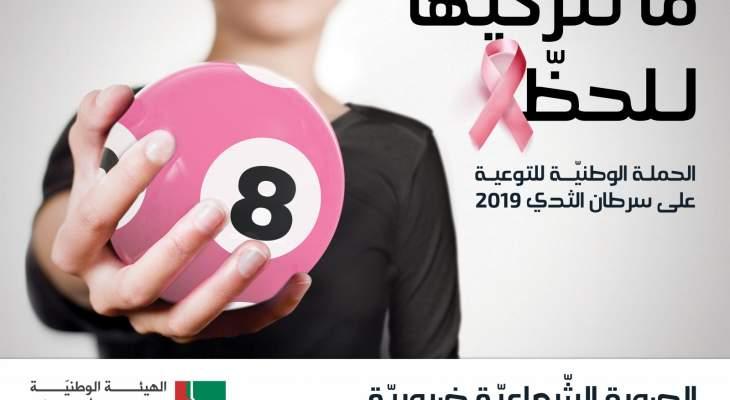 """هيئة شؤون المرأة أطلقت حملة توعوية حول أهمية الكشف المبكر عن سرطان الثدي: """"ما تتركيها للحظ"""""""