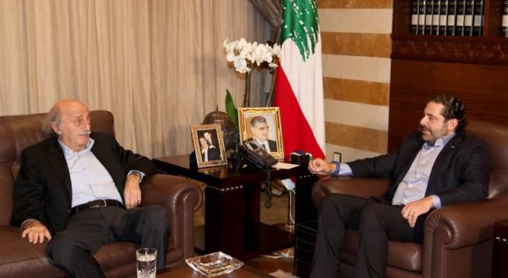 النشرة: الحريري وجنبلاط يقترحان علي العود او وليد عربيد لإرضاء دروز بيروت