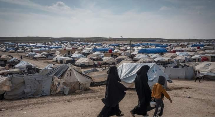 الأمم المتحدة: تسجيل 12 عملية قتل لمقيمين سوريين وعراقيين في مخيم الهول