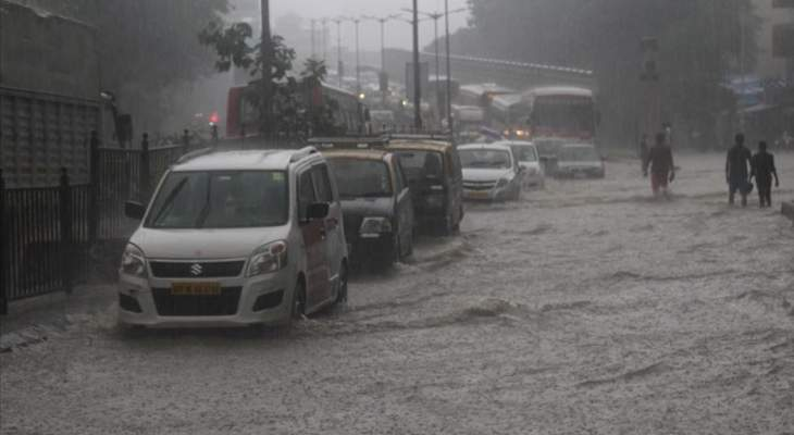 مقتل 59 شخصا بسبب الأمطار الموسمية الغزيرة في الهند
