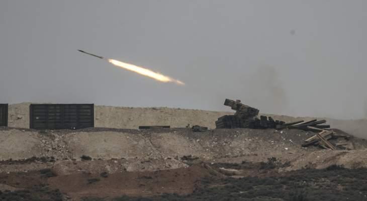 المرصد السوري: القوات التركية قصفت مواقع القوات الكردية بريف حلب الشمالي