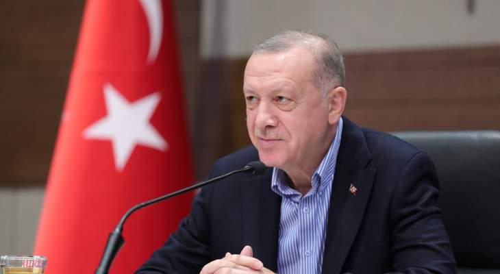 """اردوغان أعلن نجاح اختبار صاروخ """"أطمجه"""" المضاد للسفن"""