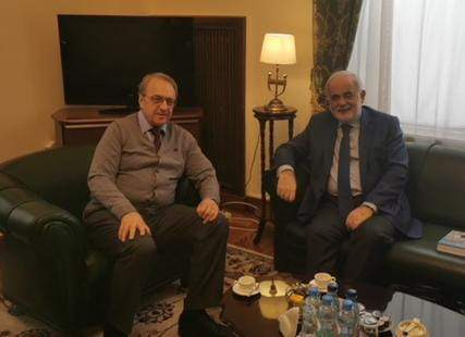 بوغدانوف استقبل ابو زيد: نرحب بتشكيل حكومة ونأمل أن يكون التعافي الاقتصادي والاجتماعي سريعا