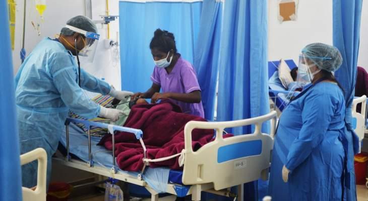 """تسجيل 29689 إصابة جديدة بفيروس """"كورونا"""" في الهند خلال الـ24 ساعة الماضية"""