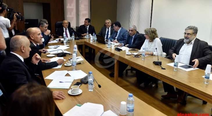 لجنة الاشغال عرضت الشفافية في قطاع البترول مع جمعيات من المجتمع المدني