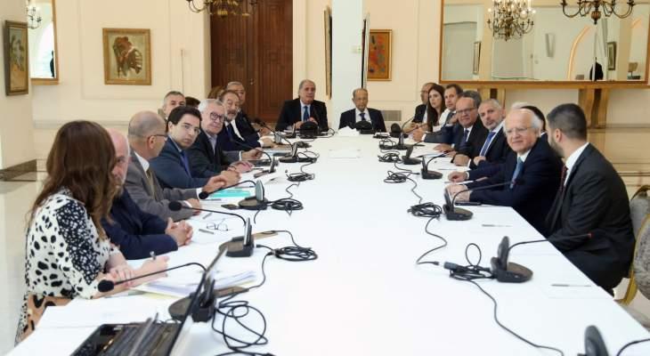 اجتماعان تحضيريان لنشاطات مئوية لبنان الكبير بقصر بعبدا أحدهما برئاسة عون
