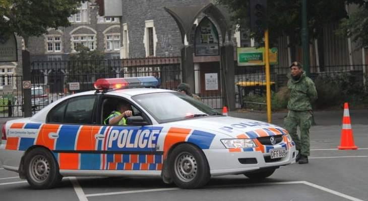 المهاجم على مسجدي نيوزيلندا عرض صور الاسلحة قبيل تنفيذ المجزرة