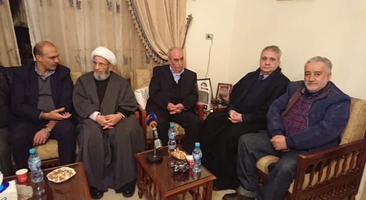 الشيخ يزبك: لاعطاء فرصة لحسان دياب لتشكيل الحكومة