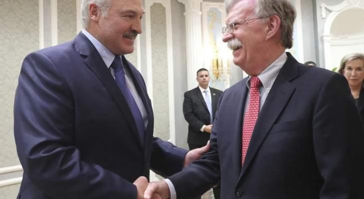 الرئيس البيلاروسي يريد فتح فصل جديد في العلاقات مع أميركا