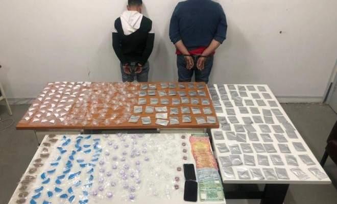 قوى الأمن أوقفت مروجيمخدرات في محلة طبرجا