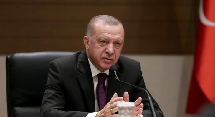 """اردوغان: """"آفاد"""" ستعلن مناطق متضررة من السيول في 3 ولايات تركية """"منطقة كوارث"""""""