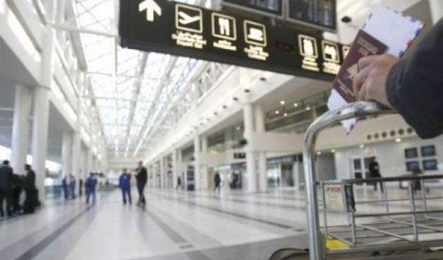 وصول الطائرة الايرانية الى مطار بيروت الدولي