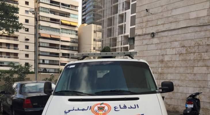 الدفاع المدني: نقل جثة مواطن من الدكوانة إلى المستشفى