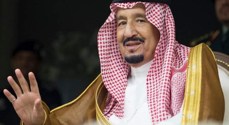 الملك سلمان يصل الى ستاد الملك فهد لرعاية نهائي كأس الملك السعودي