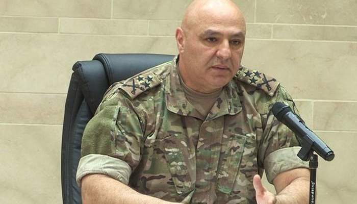قائد الجيش بحث مع السفير القطري في لبنان اخر التطورات
