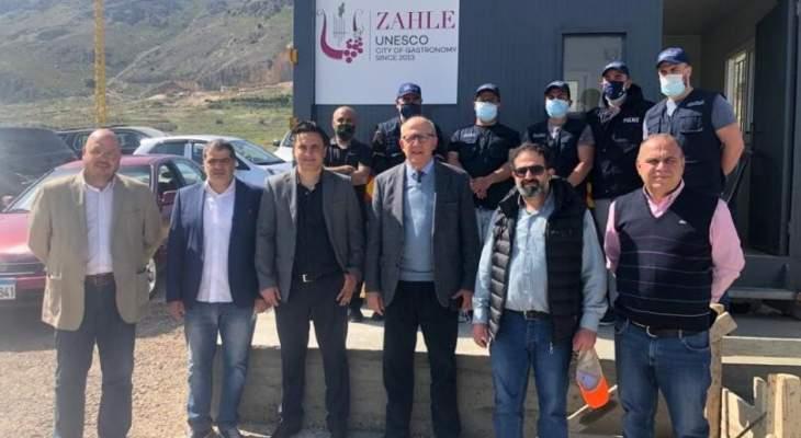 تعيين 6 حراس بلدية في منطقة التويتي بتوجيه من رئيس بلدية زحلة