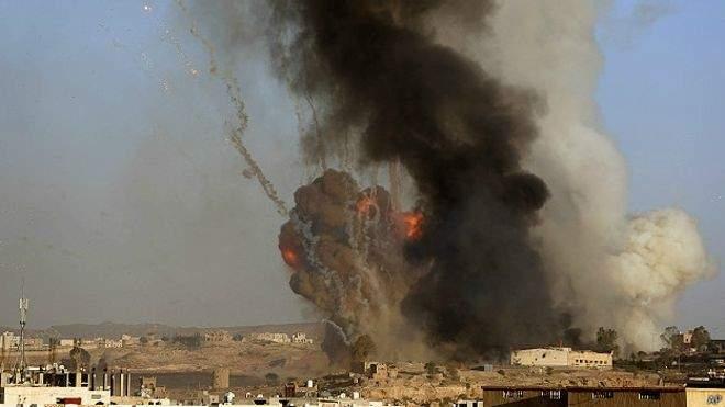مقتل 53 عنصراً من انصار الله بغارات للتحالف بمحافظة تعز