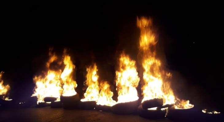 التحكم المروري: قطع طريق ساحة النور باتجاه سراي طرابلس