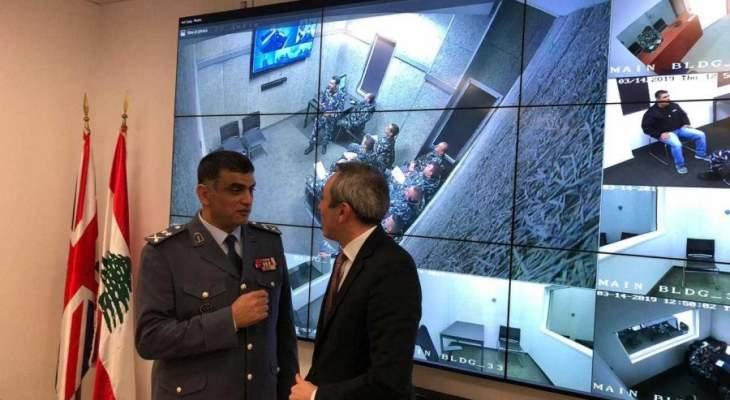 رامبلنغ واللواء عثمان افتتحا غرف التحقيق النموذجية والنظام المستحدث للمراقبة