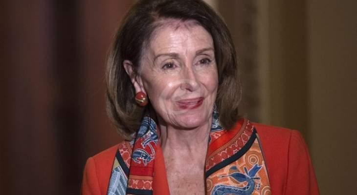 بيلوسي أكدت معارضة أي تحرك عسكري ضد إيران