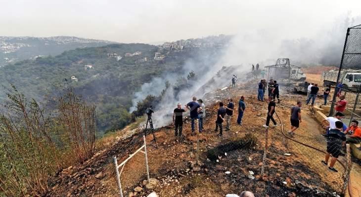 """مرزعة يشوع تفادت """"الكارثة"""" والحرائق فضحت غياب """"خطة الطوارئ"""""""