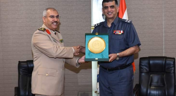 اللواء عثمان استقبل الملحق الأمني لدى السفارة السعودية مودعا